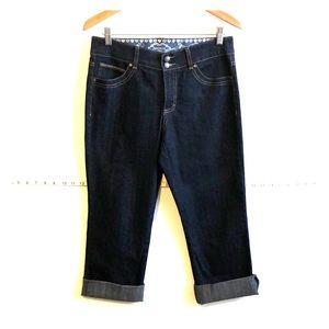 Bandolino Denim Capri / Crop Jeans EUC Like New 6